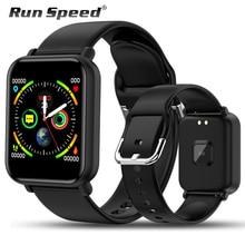 Smart Watch IP68 Waterproof Smartwatch Men Sports Heart Rate Monitor Women Fitness Tracker Watch VS Pulseira B57 For Android/IOS