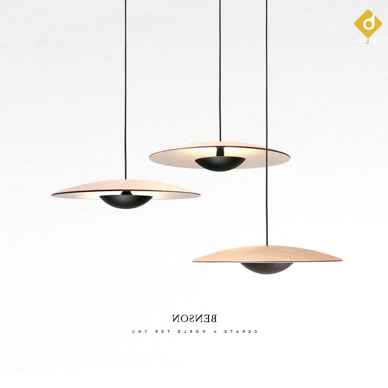 Post-modern Art Restaurant Pendant Lamp Nordic Simple Dining Table Bedside Bed Three Round Bar Cosmos Pendant Lights Pendant