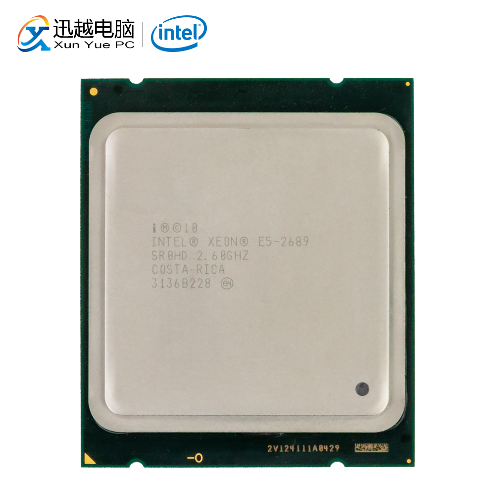 Intel <font><b>Xeon</b></font> <font><b>E5</b></font>-2689 Desktop Processor 2689 Eight-Cores 2.5GHz 20MB L3 Cache LGA 2011 Server Used CPU image