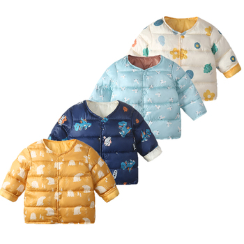Winter Jacket For Boy Thicken Long Sleeve Girl Jackets Girls Outerwear Coats Children Down Parkas Clothing bala 2016 winter girls down parkas thermal kids jacket long for girls coat thicken clothes cold proof children overcoat clothing