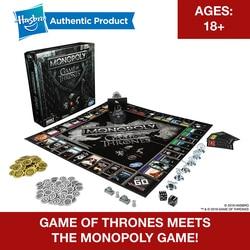 Hasbro Monopoly Juego de tronos juego de mesa por 18 años y hasta para jugar para la familia adulta juegos juntos Fans populares mercancía
