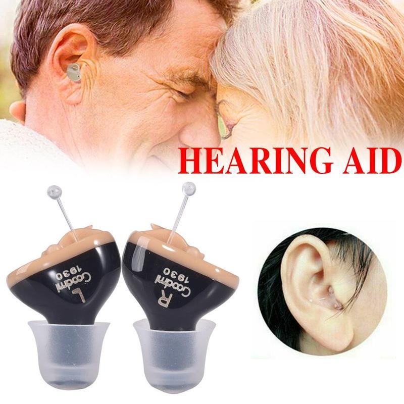 Cic aparelhos auditivos digitais 6 canais 12