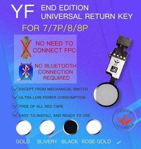 Image 3 - 新 Jc YF ユニバーサルホームボタン iphone 7/7 プラス/8/8 プラスリターンボタンキーのみバック機能とスクリーンショットなしタッチ ID