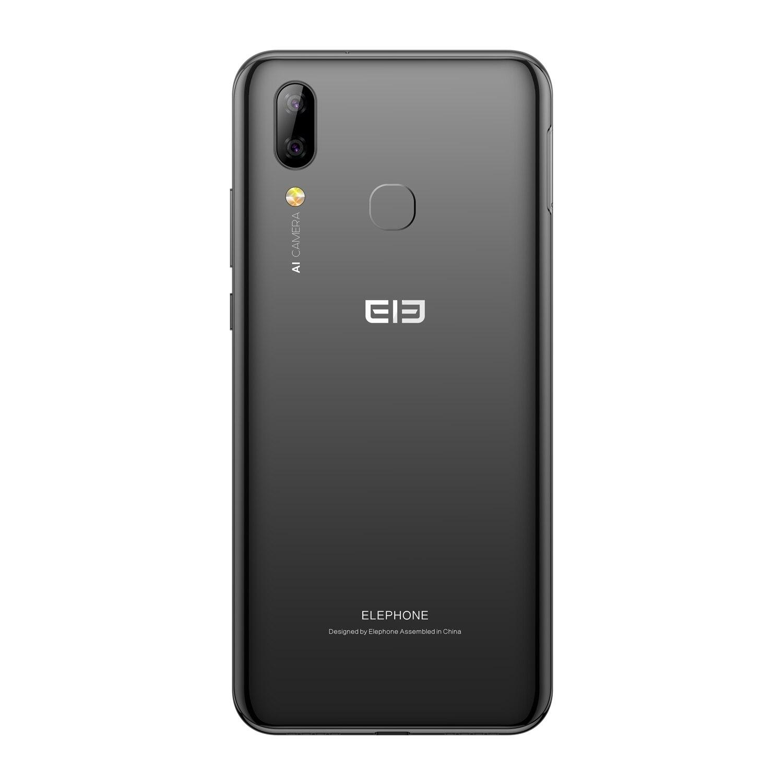 Elephone A6 Mini, 4 ГБ, 64 ГБ, 5,71 дюймов, экран капли воды, мобильный телефон, Android 9,0, MT6761, четыре ядра, HD + 16 МП, 3180 мАч, 4G смартфон - 3