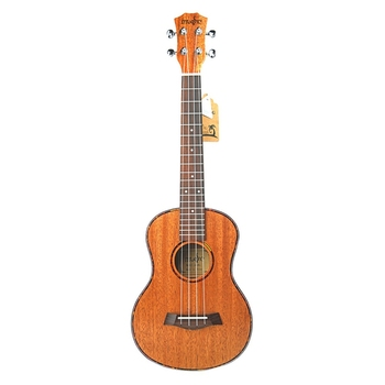 Tenor Acoustic Electric Ukulele 26 Inch Travel Guitar 4 Strings Wood Mahogany Music Instrument aiersi 26 inch tenor cutaway jazz ukulele f hole mini acoustic guitar 4 strings ukelele electric guitarre with bag capo cable