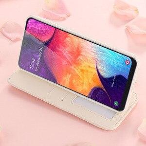 Image 4 - Luksusowy portfel etui na telefony z klapką dla Samsung A70 A50 A30 A20 dziewczyna skórzane pokrywa dla Galaxy A8 2018 A7 A6 A5 A3 J6 J4 Plus J3 2017