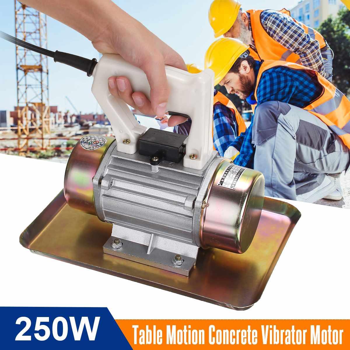 220V 250W 100kgf 2840RPM Table Motion Concrete Vibrator Motor Portable Construction Tool Hand-held Concrete Vibrator Motor New