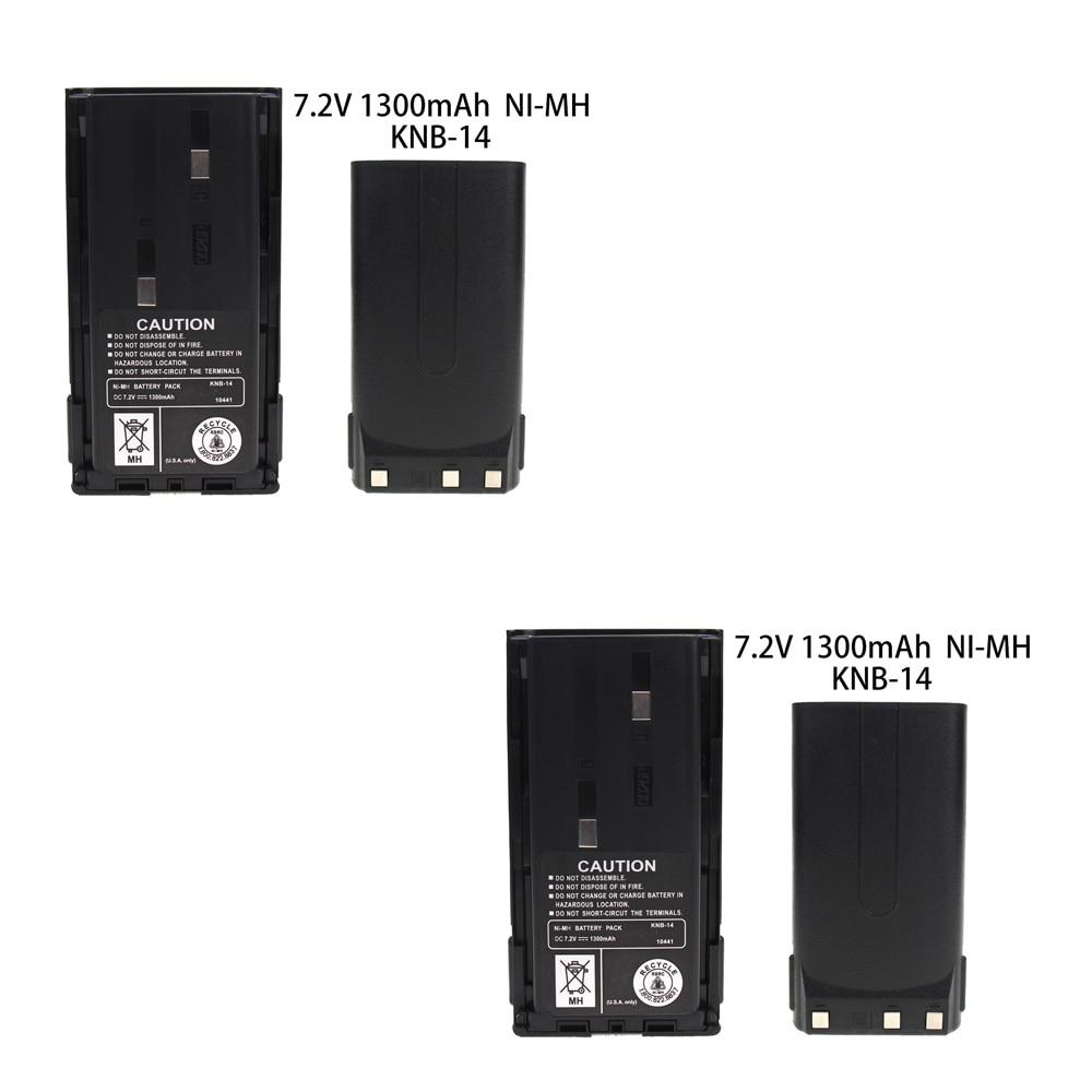 2x New Kenwood KNB-31 KNB-31A KNB-32 7.2V Ni-Mh 2100mAh Replacement Battery