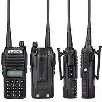 uhf dual 2pcs Baofeng UV-82 Dual Band VHF / UHF 136-174 / 400-520 MHz 8W כף יד FM משדר Waterproof סורק חובב שני הדרך רדיו (3)