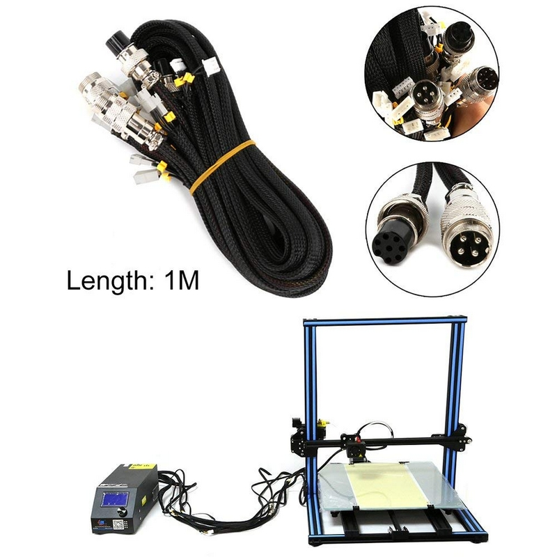 3D Printer Upgrade Parts Extension Cable kit 3D Drucker Upgrade Teile for CR-10/CR-10S Series 3D Printer Parts