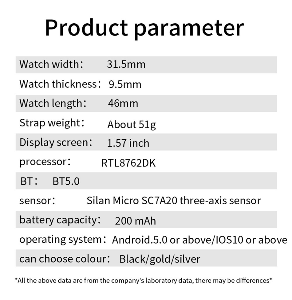 He8c9b007c7574cb48e13185755170cb00 New Smart Band Watch Fitness Tracker Bracelet Waterproof Smartwatch Heart Rate Monitor Blood Oxygen LED Screen For Huawei Xiaomi