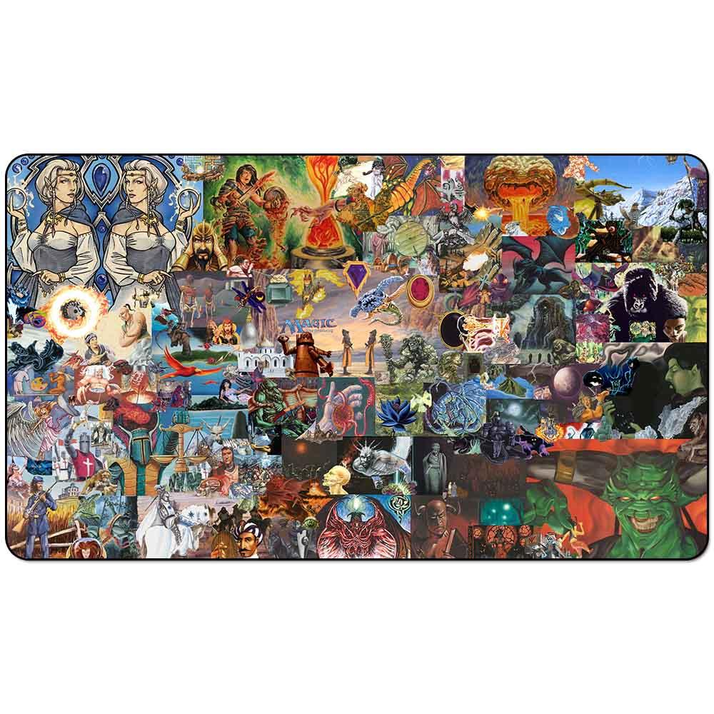 Board Game Mtg Playmat: Magic Old School Polular Arts Playmat Board Game Mat TCG Playmat 60cm X 35cm (24