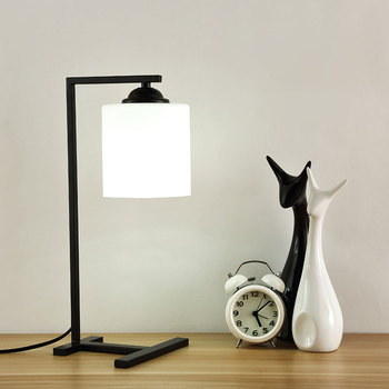 Nordic Modern Bedroom Bedside Table Lamp Fashion Home Deco Warm Table lights for Living Room Creative Personality Learning Light