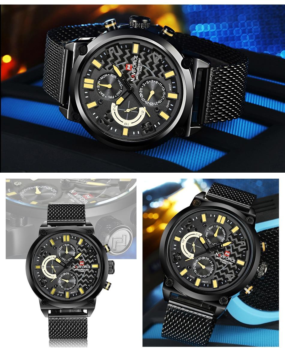 NAVIFORCE NF9068S Men's Waterproof Sport Watch He8ca1a31c4f34692adeb038b73f7be0cc