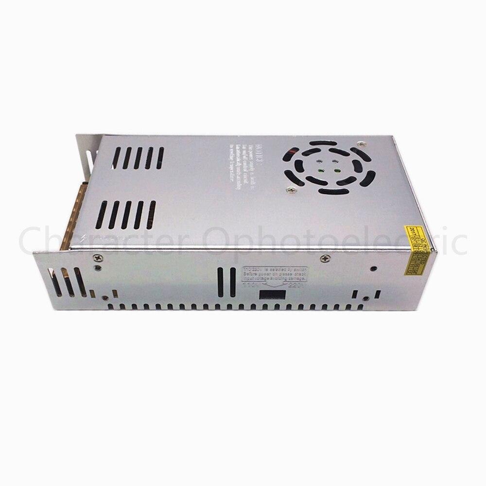 Convertisseur d'adaptateur d'alimentation ca 100-260V à DC 12V 40A 480W pour conducteur de bande de LED RGB