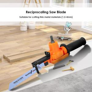 Image 4 - 1/2/5/6pcs Household Reciprocating Saw Electric Drill Woodworking Metal Cutting Tools