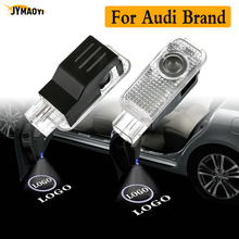 цена на 2PCS For Audi LED door light logo emblem projector Welcome Ghost Shadow Light lamp for AUDI A3 A4 B5 B6 B7 B8 A5 C5 A6 A8 Q3 Q5
