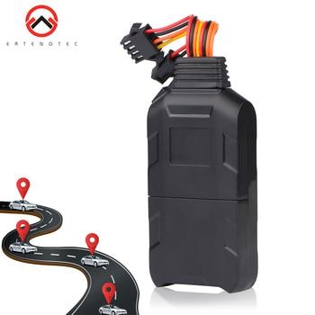 Localizador GPS Vehiculo control remoto Monitor de aceite rastreador GPS movimiento SOS...