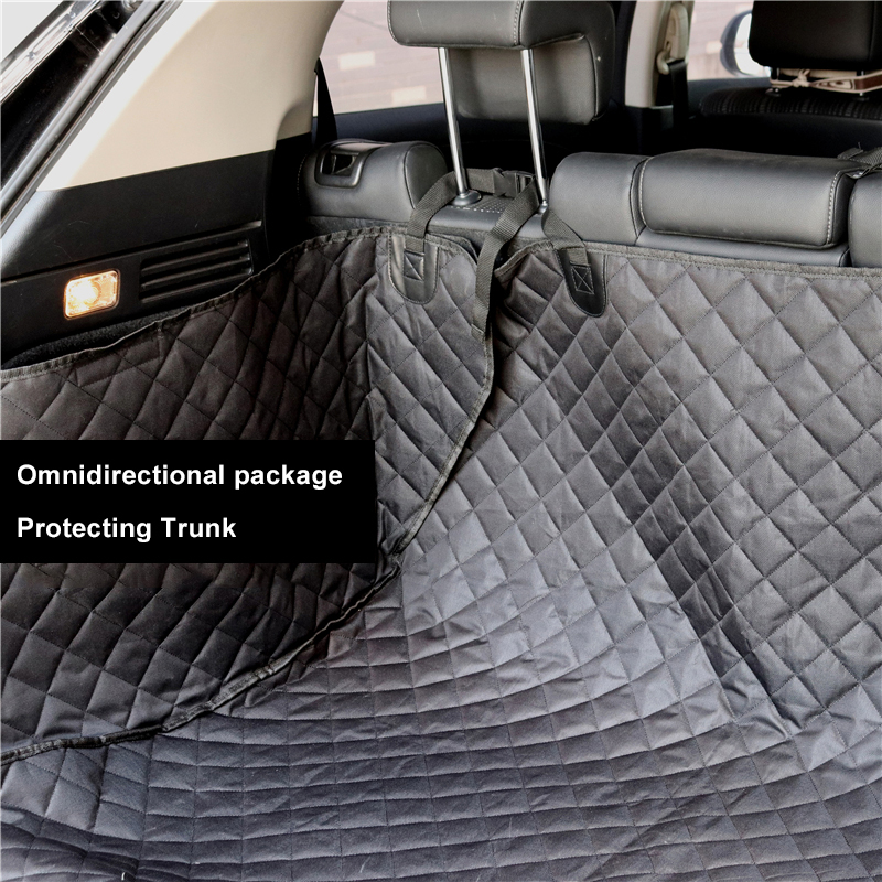 Image 2 - Lanke Dog Car Seat Cover,Waterproof Anti dirty Auto Trunk Seat  Mat,Pet Carriers Protector Hammock Cushion With Safety BeltDog  Carriers