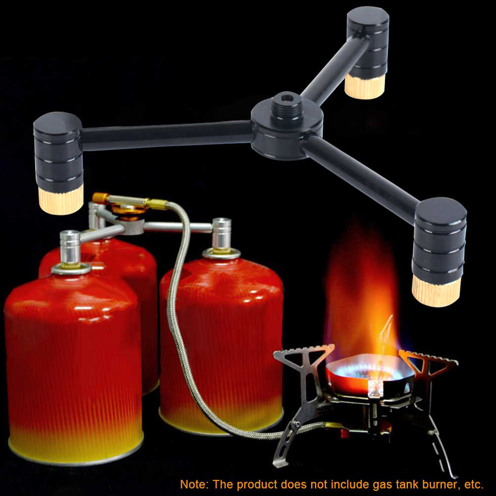 Conversion Head Adaptor for Connecting Camping Gas Stove and Butane Bottle