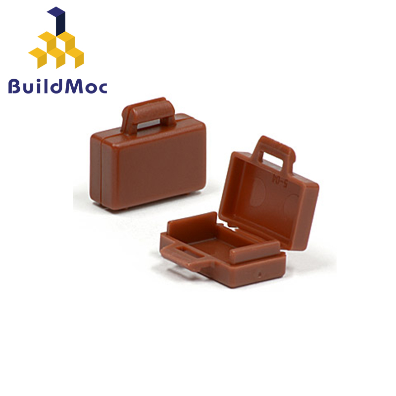 BuildMOC Compatible Assembles Particles 4449 Suitcase Building Blocks Parts DIY LOGO Educational Creatives Gift Toys