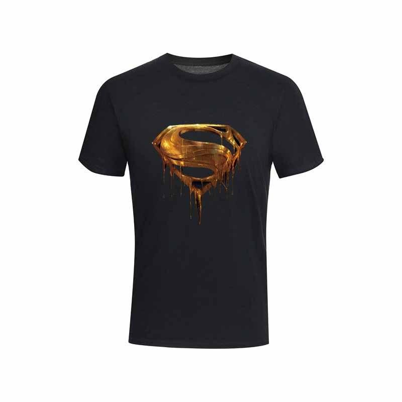 Camiseta de alta qualidade de manga curta camiseta casual de super-heróis 2020new moda superman