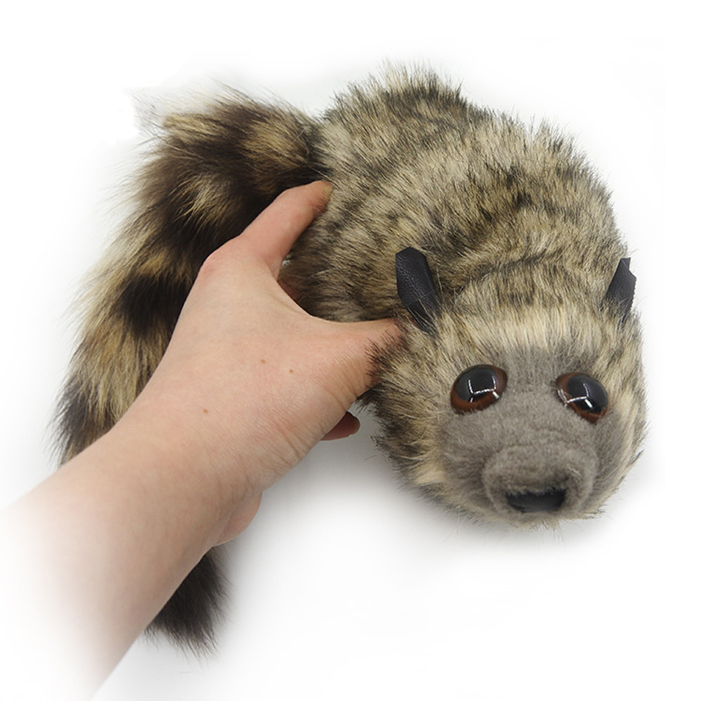 The Rocky Raccoon Magic Tricks Stage Street Illusions Gimmick Accessories Prop Funny Appear Spring Animal Magia Props Plush Toys