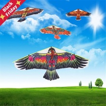 Alta calidad 1,02 m Golden Eagle Kite juegos Bird cometa Weifang cometa China Dragón Volador Hcx envío rápido
