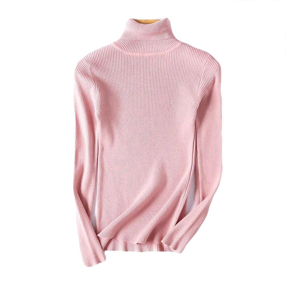 Водолазка 스웨터 겨울 가을 거북이 목 스웨터 탄성 슬림 니트 풀오버 스웨터 여성 водолазки женские