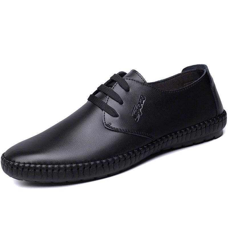 2020 Mens Leather Shoes Sneakers Outdoor Male Man Loafers Brand Men's Shoes Casual Leather Shoes For Men Flats