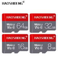 Atacado micro cartão sd cartão de memória 4 gb 8 gb 16 gb cartão flash tarjeta microsd/tf cartão 32 gb 64 gb 128 cartão de memória presente adaptador