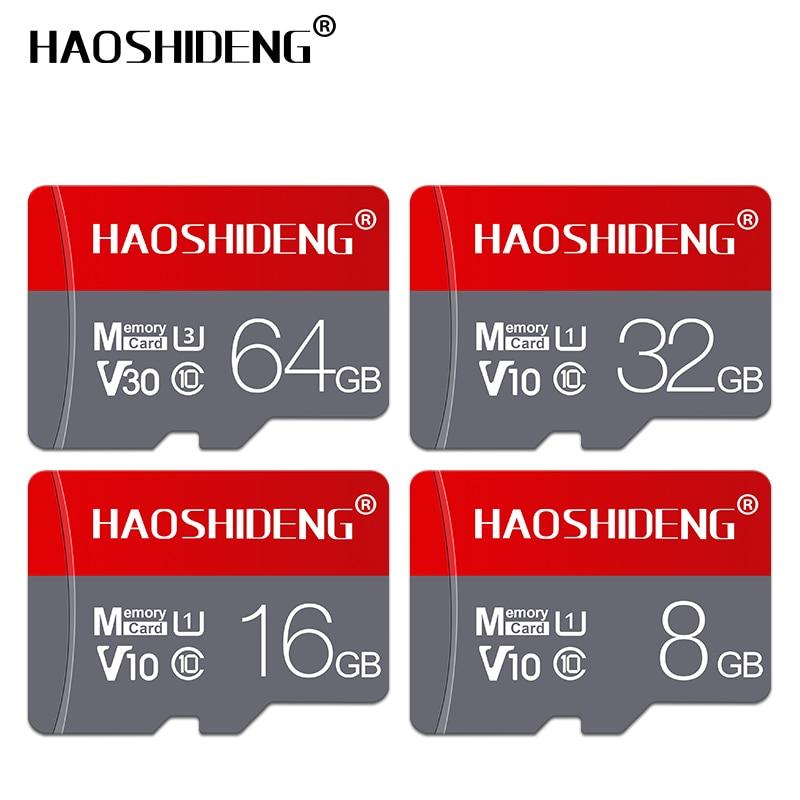 Venta al por mayor Micro tarjeta SD cartao de memoria de 4 GB, 8 GB, 16GB y GB tarjeta flash tarjeta microsd/tf tarjeta 32GB 64GB 128 GB tarjeta de memoria regalo adaptador