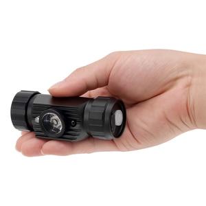 Image 4 - BORUiT RJ 020 XPE LED indüksiyon far 1000LM hareket sensörü far 18650 şarj edilebilir baş feneri kamp avcılık el feneri