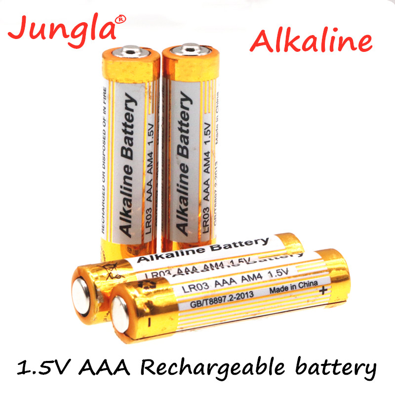 Alkaline Battery New 3000mah 1.5V AAA Alkaline Battery AAA Rechargeable Battery For Remote Control Toy Light Batery Smoke Alarm