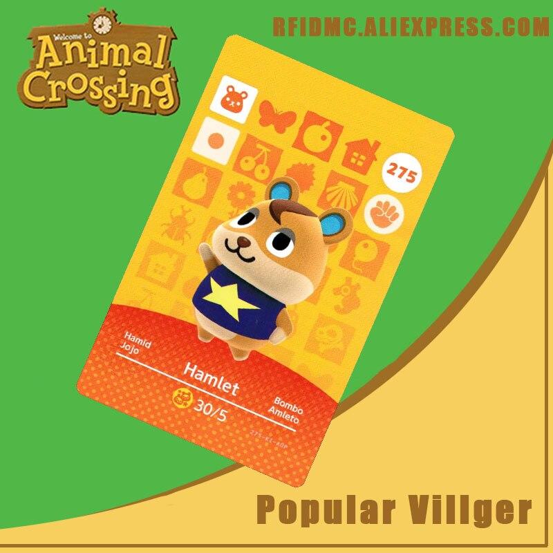 275 Hamlet Animal Crossing Card Amiibo For New Horizons