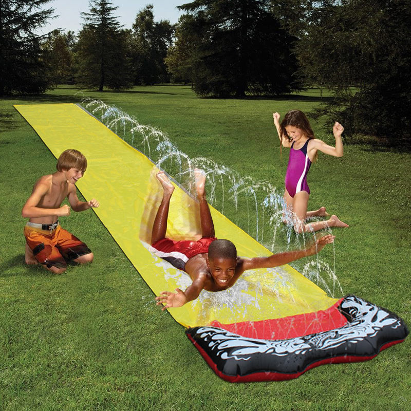 Swimming Water Slide Fun Lawn Water Slides Pools For Kids Summer Games Center Backyard Outdoor Children Adult Toy Home Yard Game