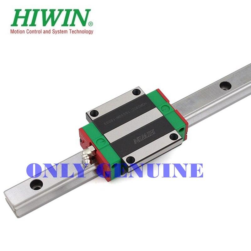 Livraison gratuite Hiwin Guide linéaire roulement glissière Rail HGR25 fraisage CNC pièces de machines