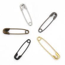 200 sztuk agrafki ustalenia srebrny złoty czarny anty miedź 19mm x 5mm agrafka DIY ocena biżuterii tanie tanio Tak ( 50 sztuk) zin alloy sliver black golden grey anti copper