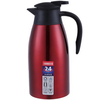 2L Stainless Steel Thermal Jug and Insulated Vacuum Jug for Hot Water Coffee Tea and Milk