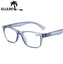 Женские очки для чтения kujuny ультралегкие с полимерными линзами