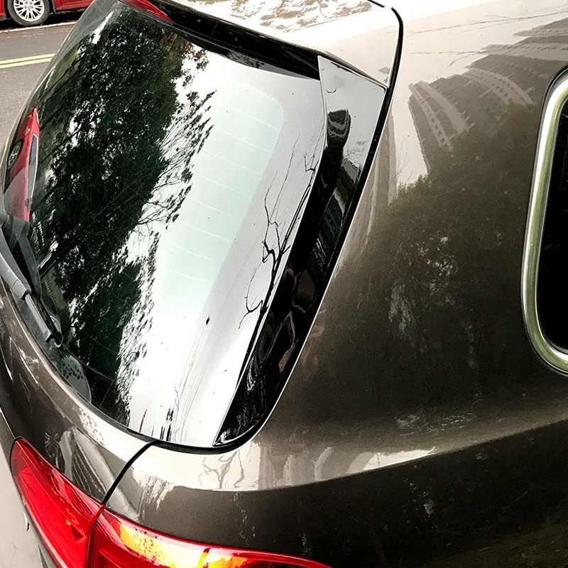 Arka yan kanat çatı Spoiler çıkartmalar ayar kapağı parlak siyah Volkswagen Magotan için seyahat sürümü Passat B6 B7 2006-2015