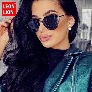 LeonLion Cat Eye Retro Sunglasses Women 2020 Vintage Glasses Women Luxury Eyeglasses Women Brand Designer Oculos De Sol Gafas