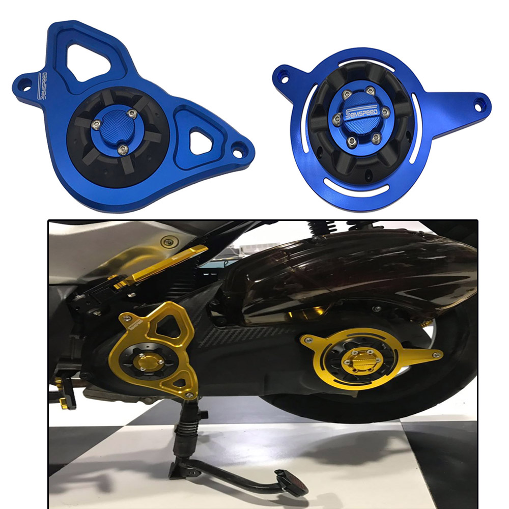 Motorcycle CNC NMAX 155 125 Left Right Front Engine Guard Cover Protector For NMAX155 N-MAX 155 N-MAX 155 2015-2018 2019 2020