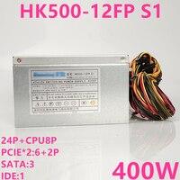 New PSU For Huntkey Rated 400W Peak 500W Power Supply HK500 12FP S1