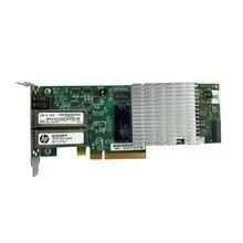Original 593742-001 593715-001 para placa de rede da fibra ótica de hp nc523sfp qle3242 10g