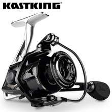 KastKing Megatron New Water Resistant Carbon Drag Spinning Reel with Large Spool 18KG Max Drag Saltwater Spinning Fishing Reel
