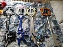 4 estilos reino corações sora sem coração gigante chave sombra arma chave cosplay espada