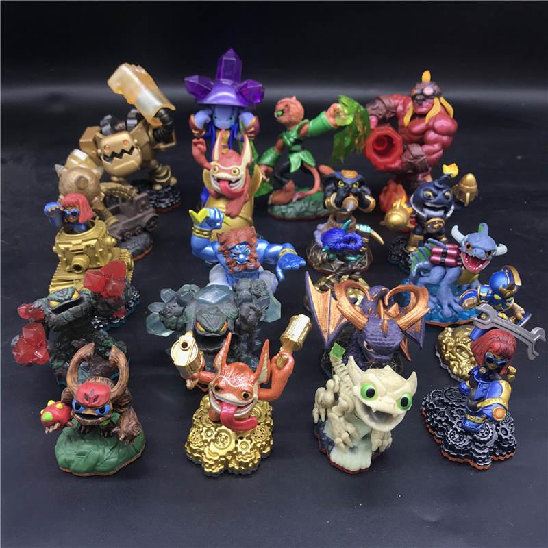 Skylanders Spyro's Adventure Collect Team Tree Man Dragon Lightning Rod Action Figure Model Collection Toy