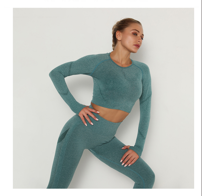 Yoga Clothing Set Sports Suit Women Sportswear Sports Outfit Fitness Set Athletic Wear Gym Seamless Workout Clothes For Women