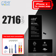 батарея на айфон X  large capacity 2716mAh Lehehe 100% Official original battery with Free dismantling tools